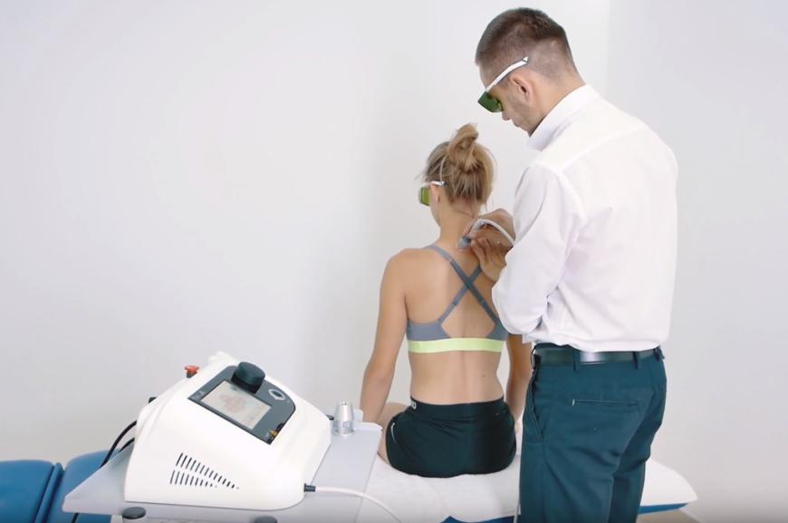 Ból kręgosłupa - leczenie laserem odcinka szyjnego i lędźwiowego