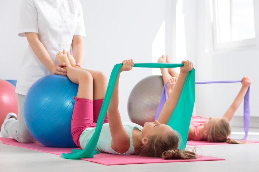Rehabilitacja dzieci - kinezyterapia