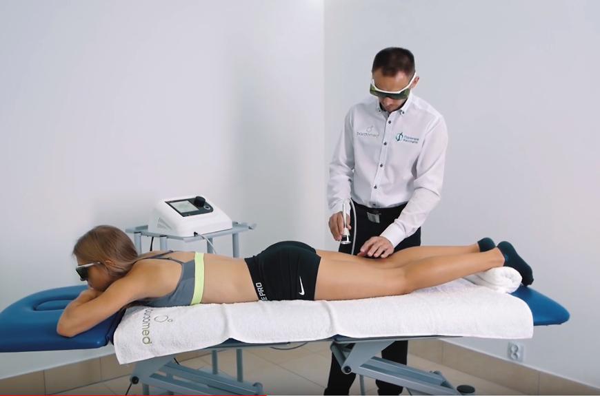 Uraz uda - leczenie laserem wysokoenergetycznym