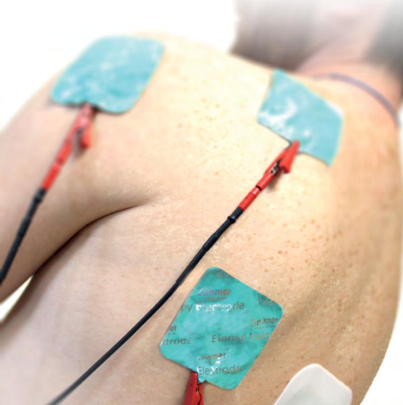 Leczenie przy pomocy elektrod - terapia Tecar