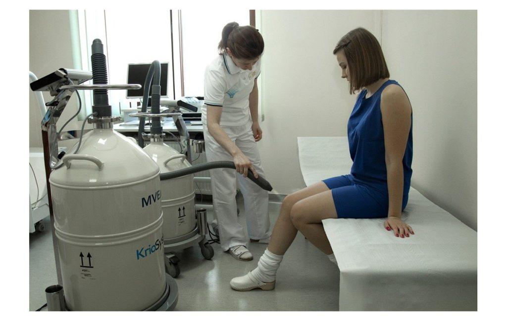 Krioterapia miejscowa - zabieg