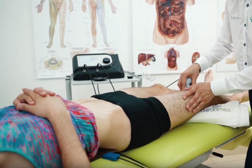 Masaż sportowy aparatem Doctor TECAR