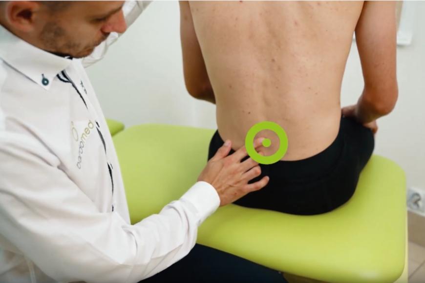 Leczenie bólu kręgosłupa lędźwiowego aparatem TECAR