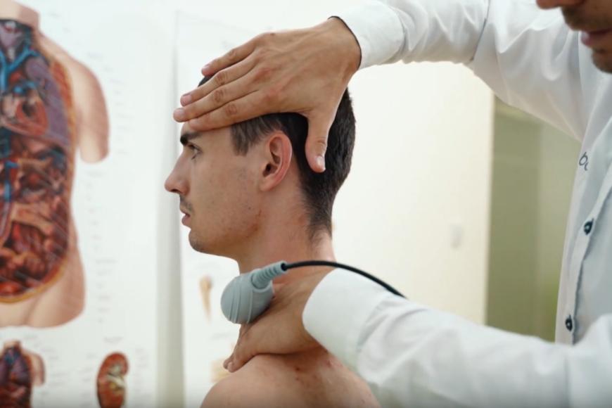 Terapia TECAR w leczeniu bólu kręgosłupa szyjnego