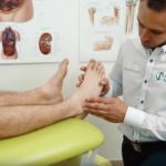 Leczenie skręconego stawu skokowego aparatem Doctor TECAR
