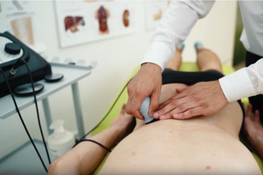 Terapia TECAR na ból kręgosłupa lędźwiowego