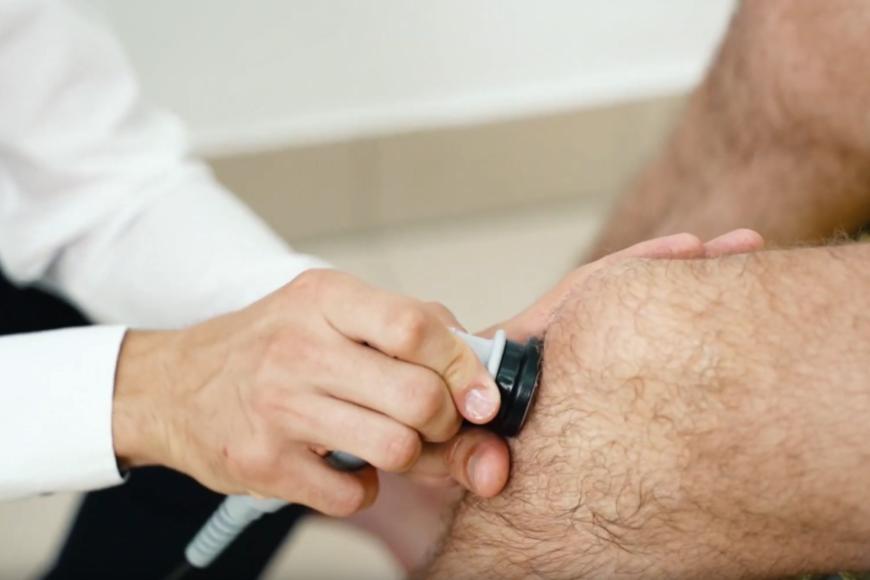Zwyrodnienie stawu kolanowego - leczenie aparatem Doctor TECAR
