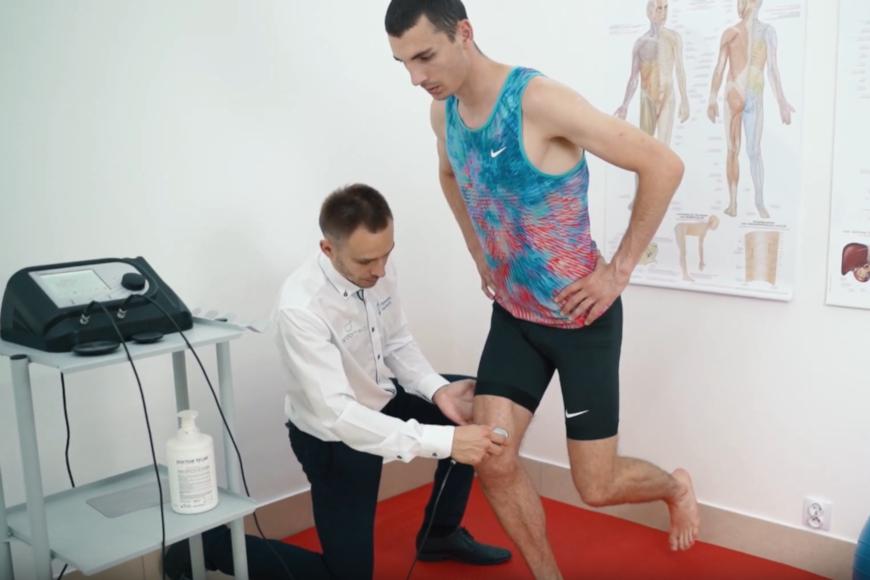 Aktywacja mięśni po operacji stawu kolanowego