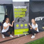 Strefa regeneracji BardoMed na zawodach sportowych