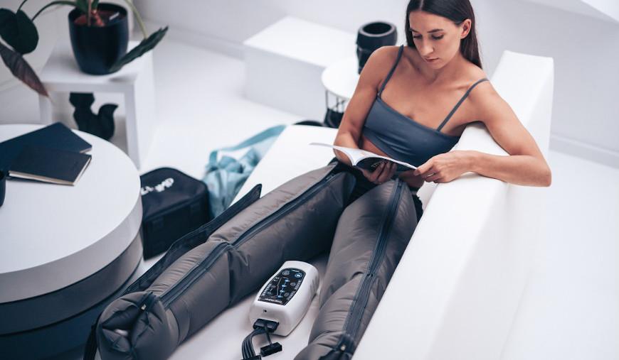 Drenaż limfatyczny nóg - aparatem CarePump Move4