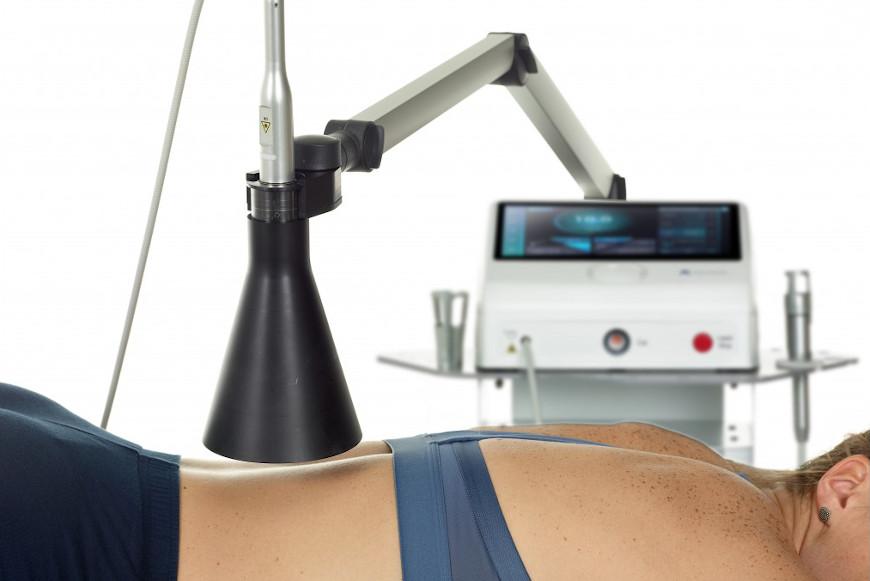 Innowacyjne metody fizykoterapeutyczne - laser iLUX Plus