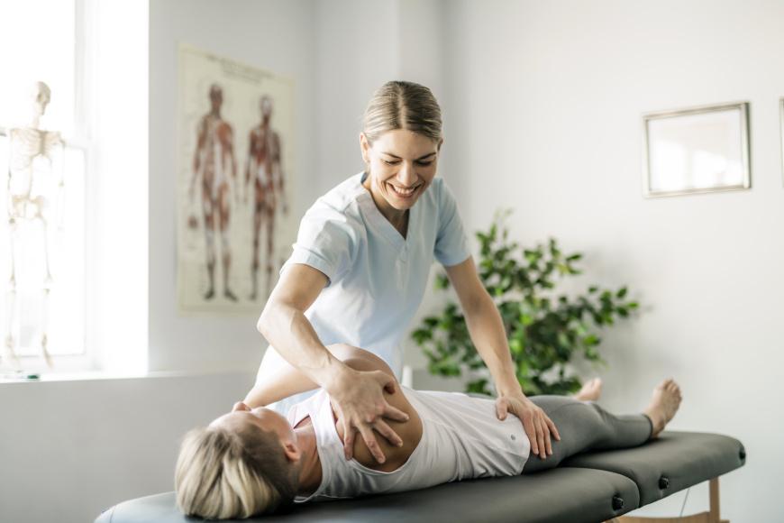 Fizjoprofilaktyka - ćwiczenia z pacjentem