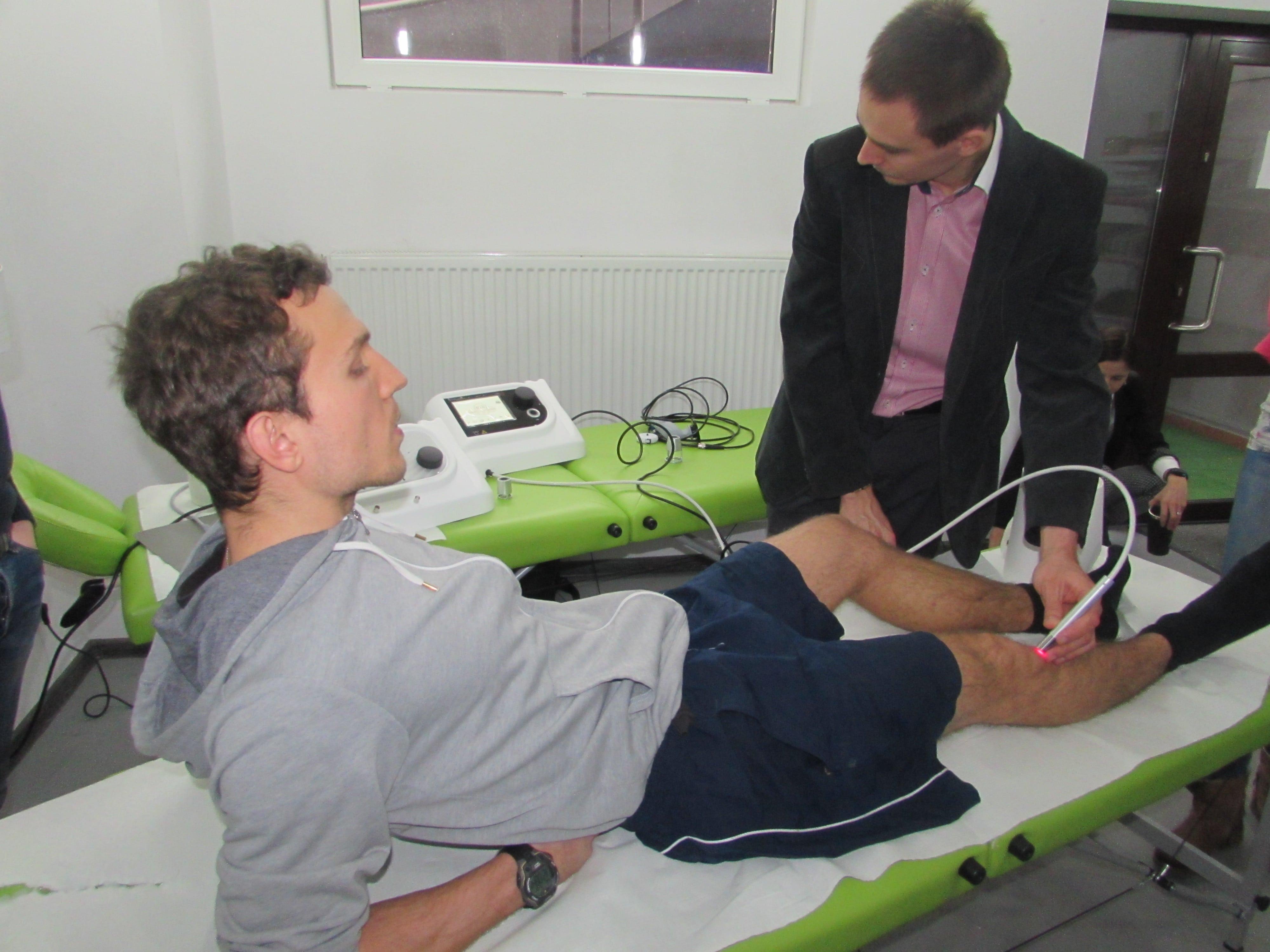 Laser wysokoenergetyczny - terapia kończyn dolnych
